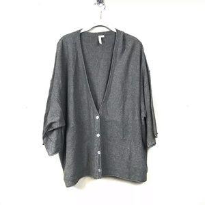 Pure Jill cashmere blend cardigan sweater